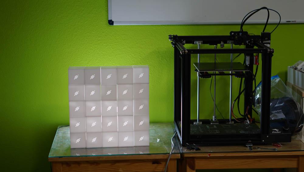 Gehäuse CO2-Cube